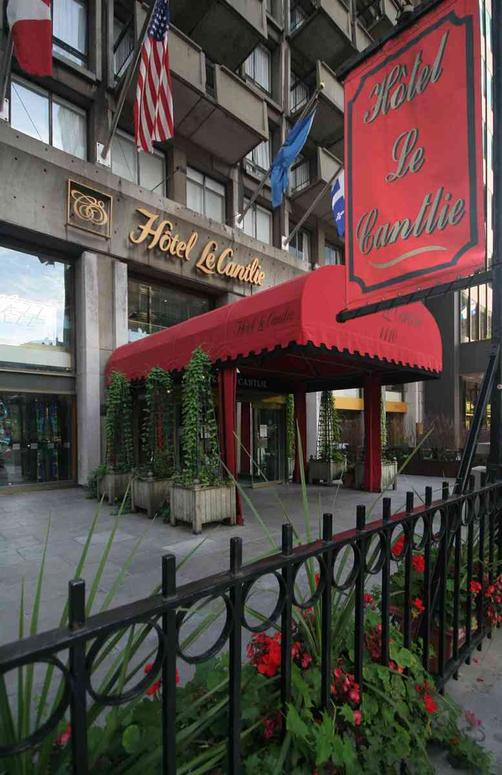 Hotel Le Cantlie Suites - Montreal - Building