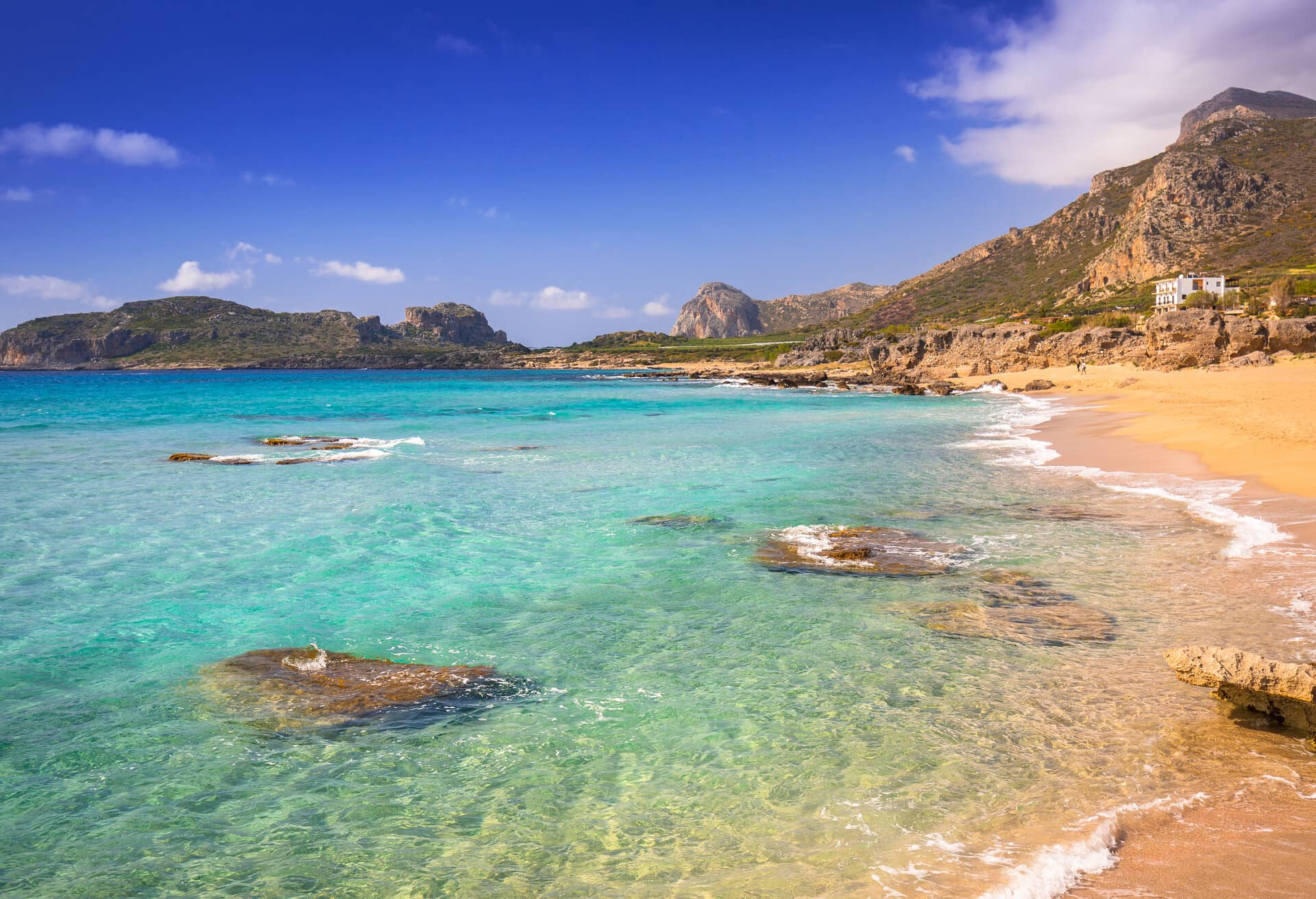 Crete is the best island for beach holiday.