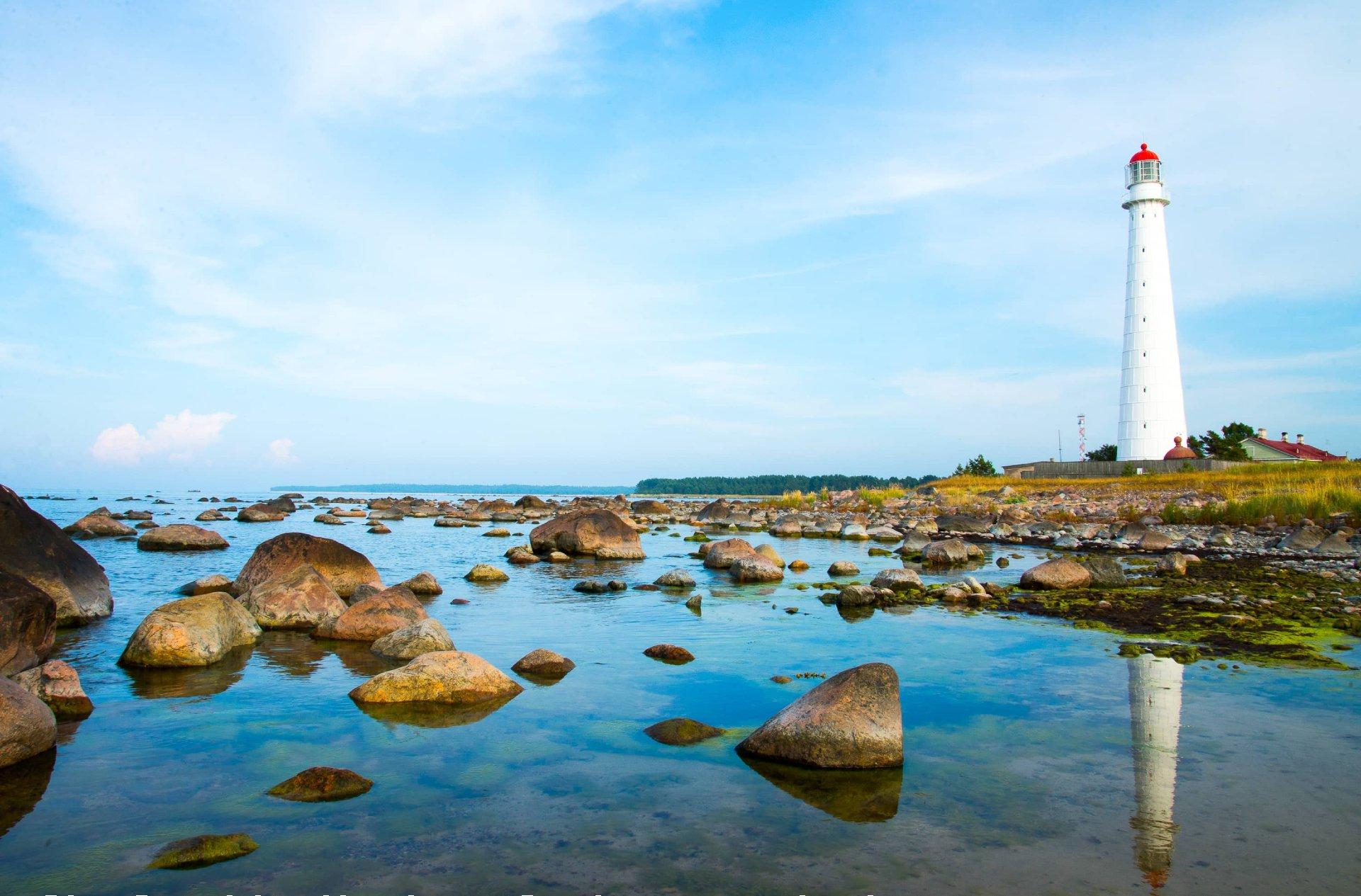 Lighthouse on Hiiumaa island, Estonia.