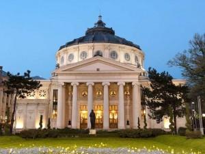 Romanian-Athenaeum-Of-Bucarest,-Romania_ollirg_iStock_000016517237_Large