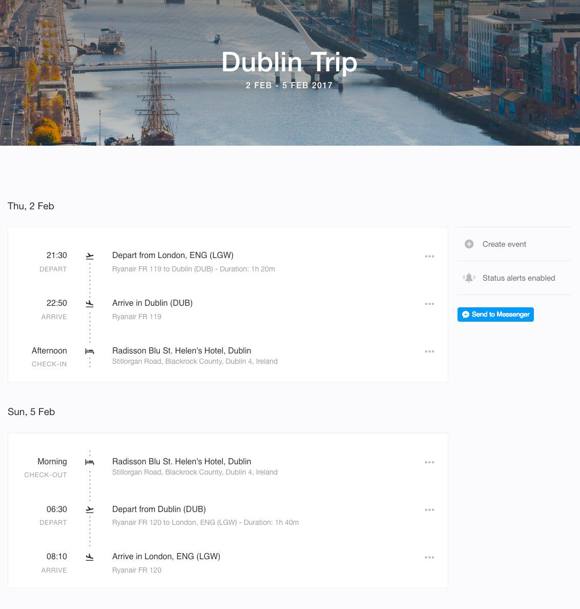 KAYAK Trips Dublin