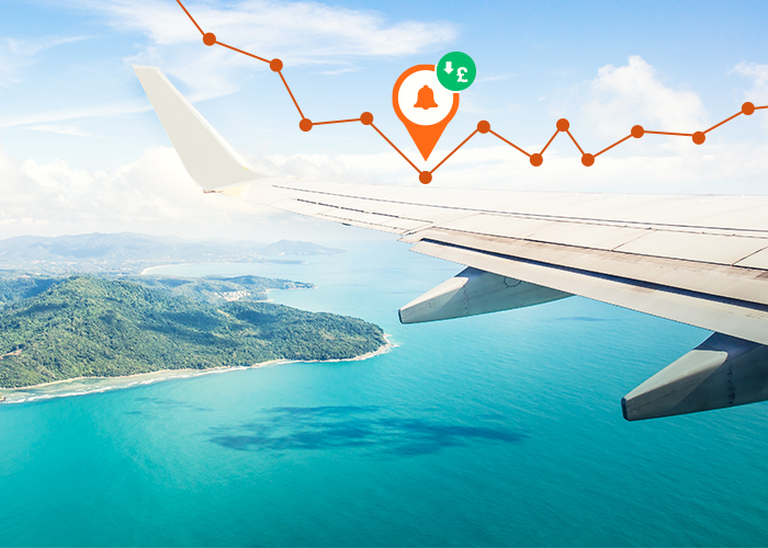 Amazing: This tool automatically monitors flight prices and notifies you when it finds a cheaper flight