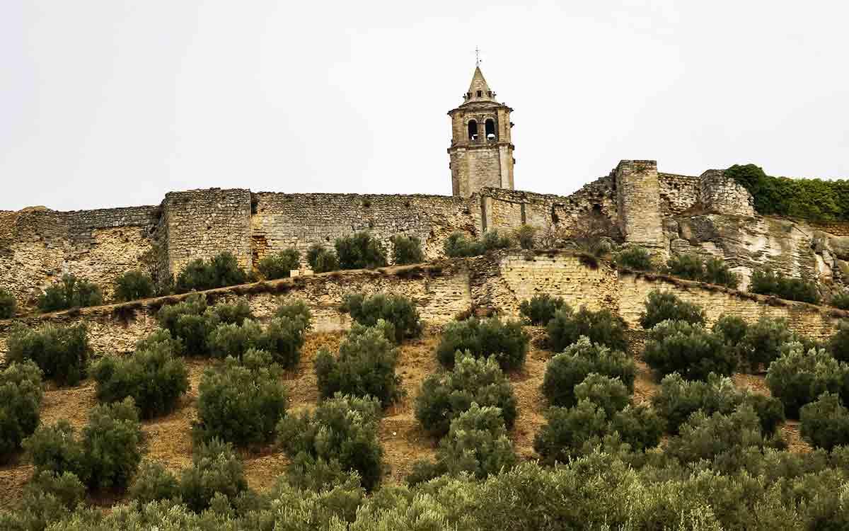 castillo de la mota jaen
