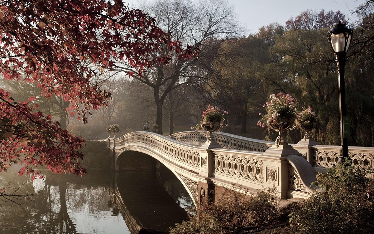 Bow Bridge Romantic Proposal
