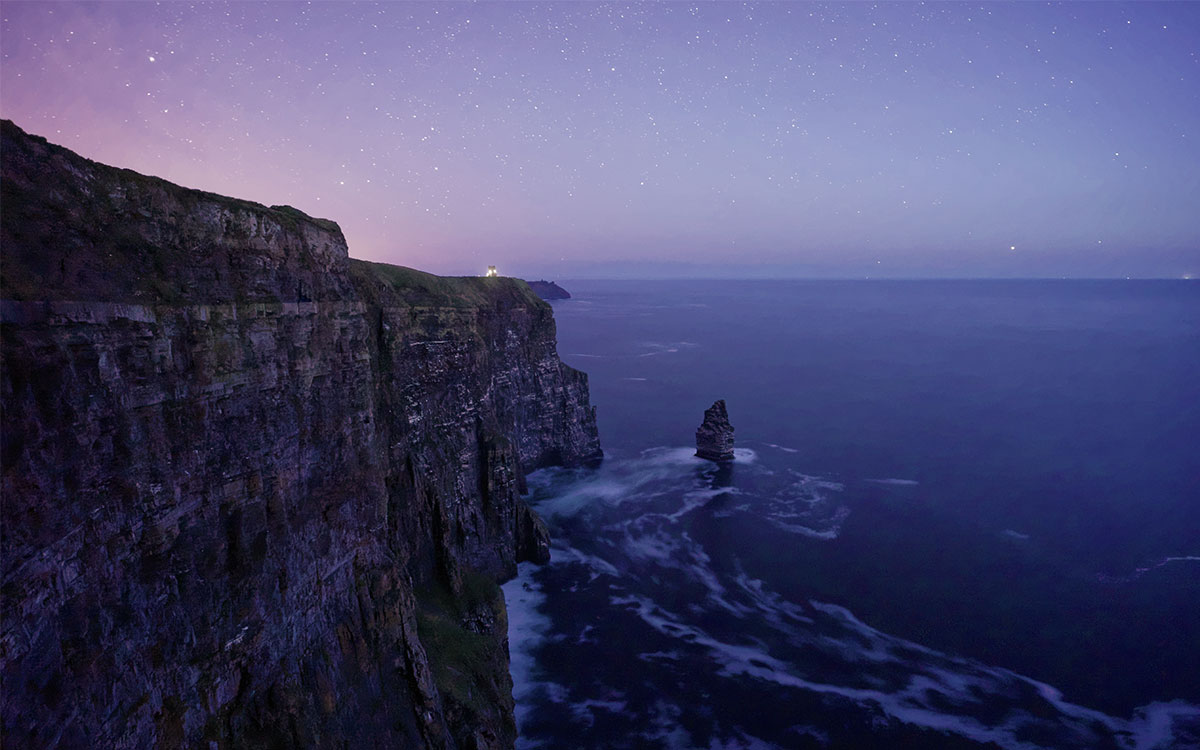 Cliffs of Moher Romantic Proposal