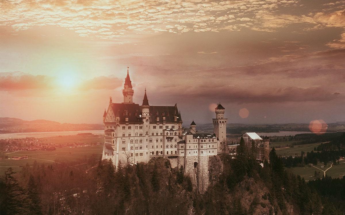 Neuschwanstein Castle Romantic Proposal