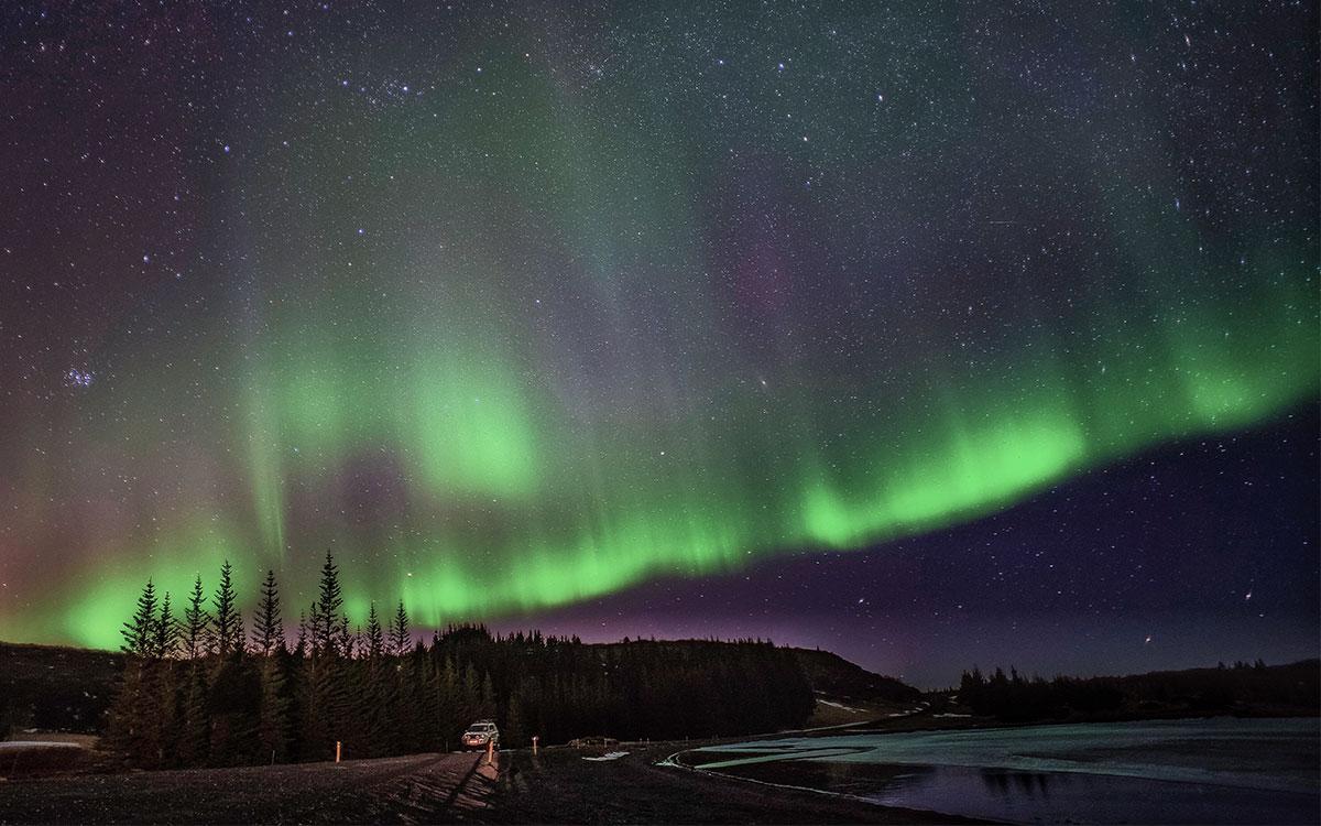 Northern Light Proposal Romantic Iceland