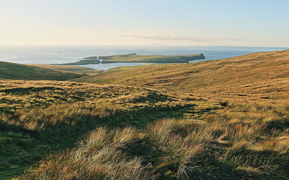 Foula island landscape