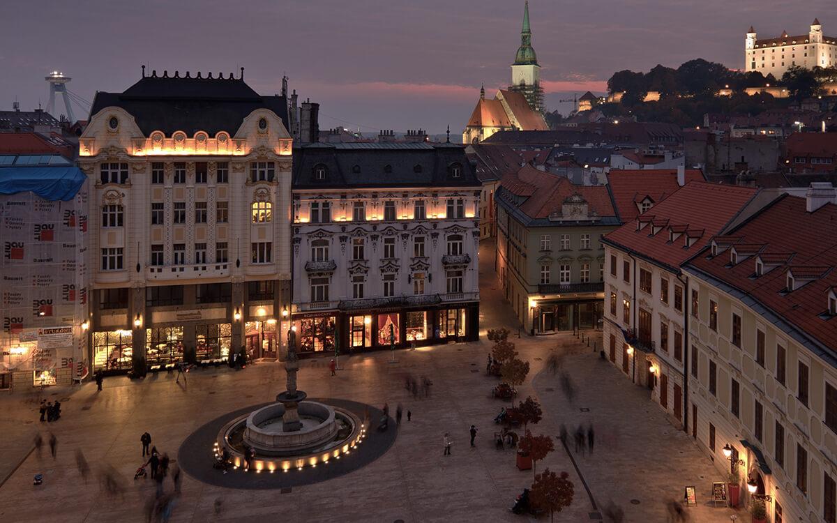 Cheap New Years Eve Bratislava
