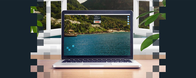 Desktop Escapes app