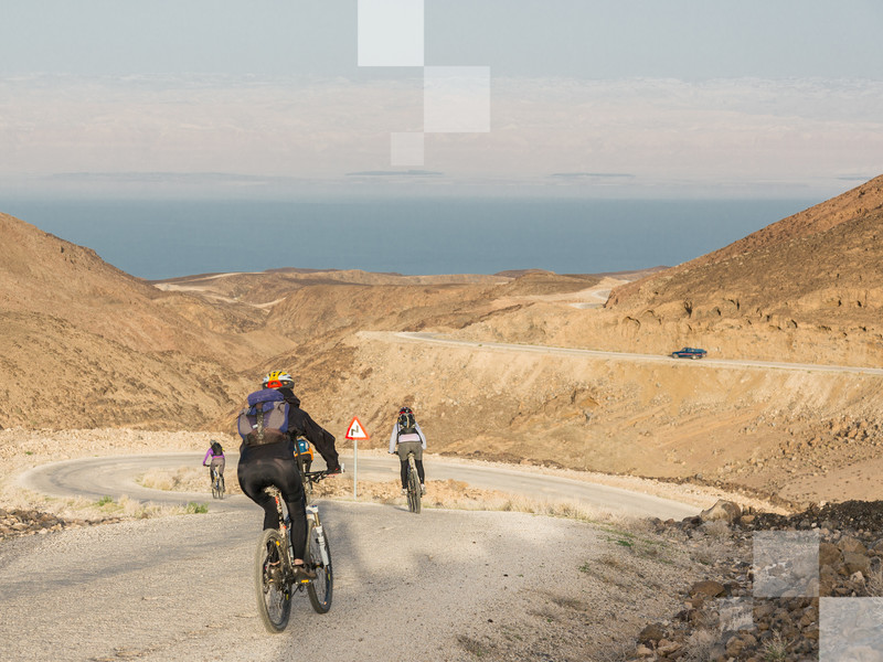 Why not go on a cycling holiday through Jordan's winding desert roads?