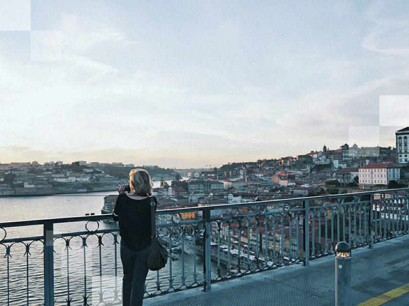 Take in the river views in Porto
