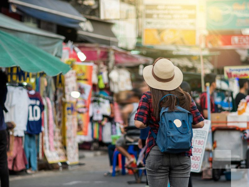 Make a New Year's resolution to travel more, and then start immediately in Bangkok