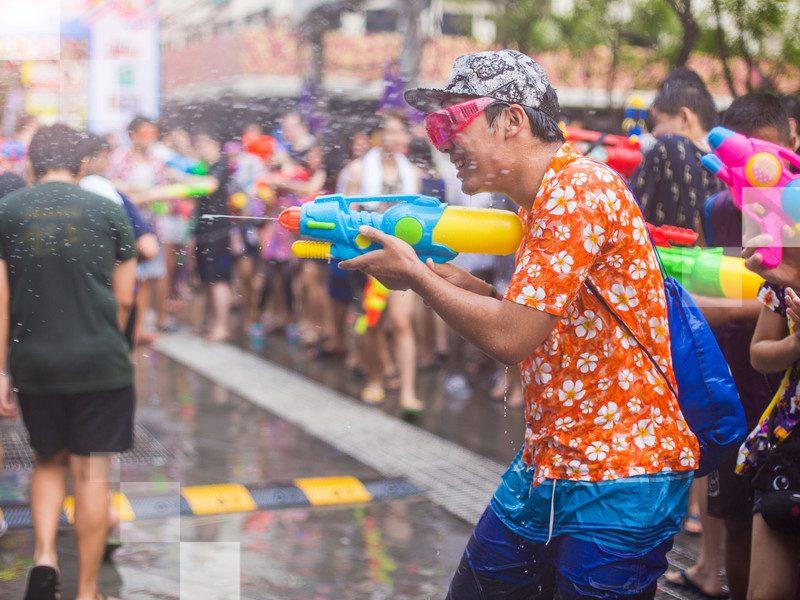Pro tip: If you're travelling to Bangkok during Songkran, prepare to get wet