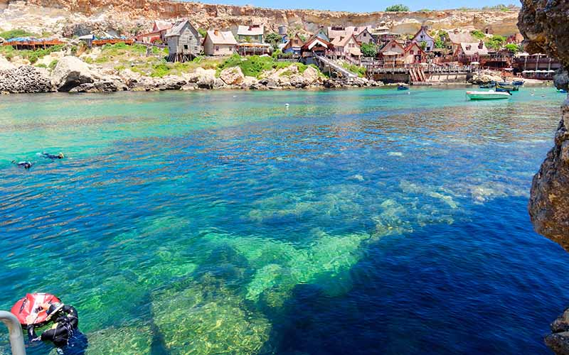 Anchor Bay is the perfect spot for your first dive