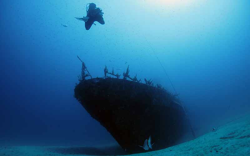 P29 - wreck diving for the advanced divers
