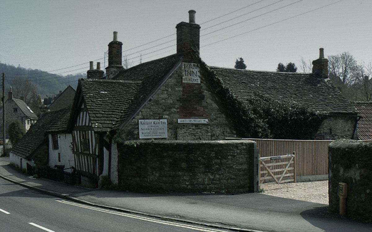 Ancient Ram Inn Haunted Britain