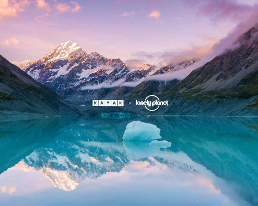 KAYAK partners with Lonely Planet on their Best in Travel 2021