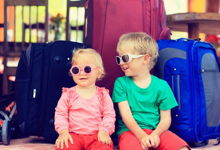 Family car hire and tips for travelling with kids