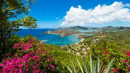 Find cheap flights to Antigua And Barbuda