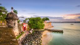 Find cheap flights from England to San Juan