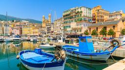 Find cheap flights from London Luton Airport to Bastia