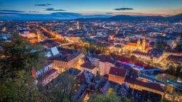 Find cheap flights from England to Graz