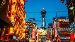 Find cheap flights to Osaka