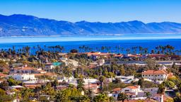 Find cheap flights from England to Santa Barbara