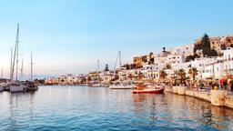 Find cheap flights from London City to Naxos