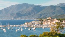 Find cheap flights from London Gatwick Airport to Corsica