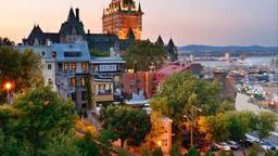 Find cheap flights from England to Québec City