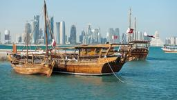 Find cheap flights from Wales to Doha