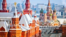 Moscow hotels near Hermitage Garden