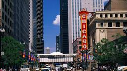 Chicago hotels near Theatre District