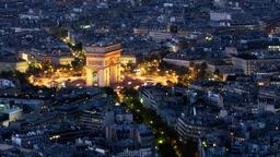 Paris hotels near Arc De Triomphe