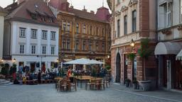 Find cheap flights from Cardiff to Ljubljana