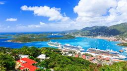 Find cheap flights from England to Saint Thomas Island
