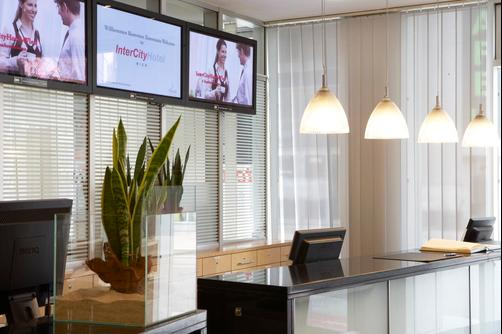 InterCityHotel Wien - Vienna - Front desk