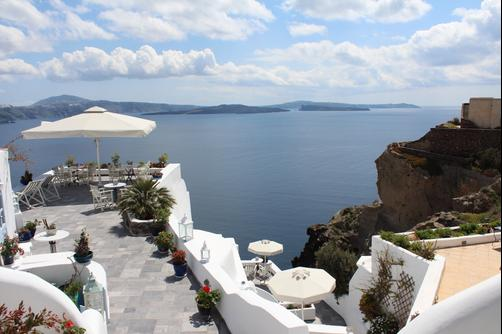 Aris Caves - Oia - Outdoor view