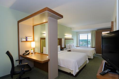 SpringHill Suites by Marriott Columbia Downtown The Vista - Columbia - Queen bedroom