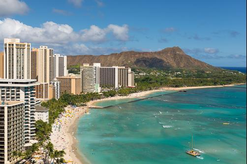 Waikiki Beach Marriott Resort & Spa - Honolulu - Outdoor view