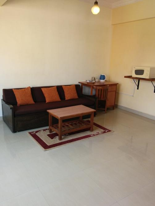Goan Clove Apartment Hotel - Vagator - Living room