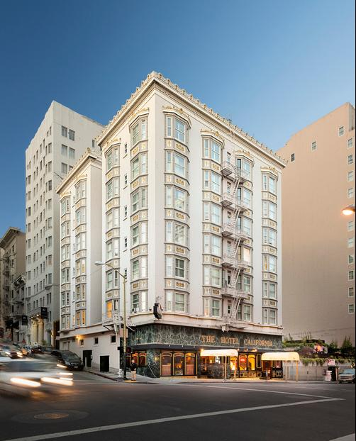 The Hotel California - San Francisco - Building