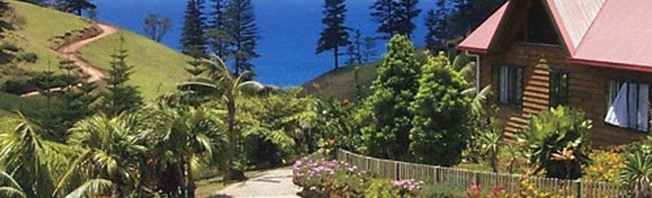 Norfolk Island - Hotel Entrance