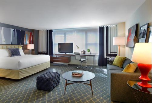 Fifty NYC-an Affinia hotel - New York City - Bedroom