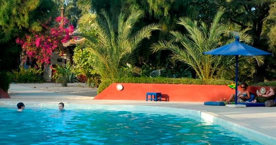 Hotel Mermoz - Saint-Louis - Pool