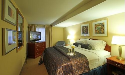 Brookshire Suites - Baltimore - Bedroom