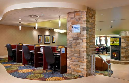 Holiday Inn Express & Suites Pittsburgh West - Greentree - Pittsburgh - Business centre